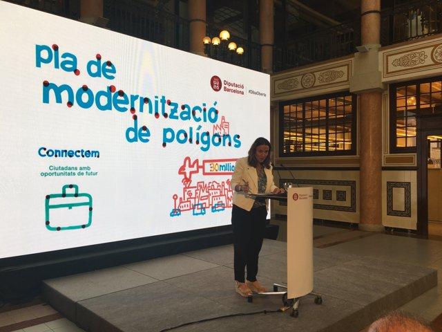 La presidenta de la Diputació de Barcelona, Mercè Conesa