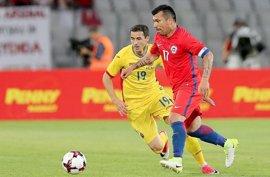 Chile cierra con derrota ante Rumanía (3-2) su fase de preparación para la Confederaciones