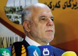 """Al Abadi subraya que un referéndum de independencia en el Kurdistán """"no es oportuno"""" en estos momentos"""
