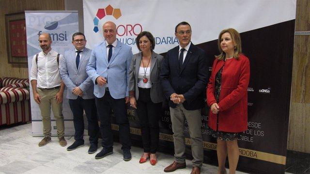 Presentación del III Foro Andalucía Solidaria