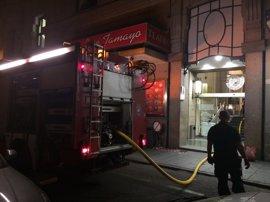 Extinguido un incendio sin heridos en una terraza del Círculo de Bellas Artes