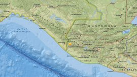 Registrado un terremoto de magnitud 7 en Guatemala cerca de la frontera con México