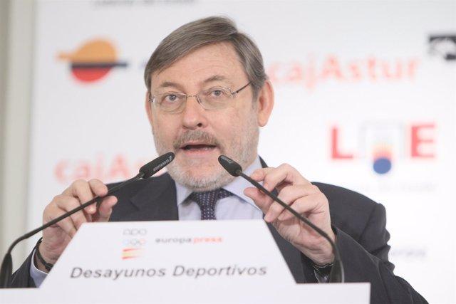 Jaime Lissavetzky Desayunos Deportivos Europa Press