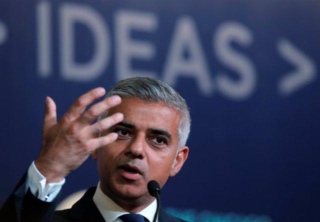 El alcalde de Londres, Sadiq Khan