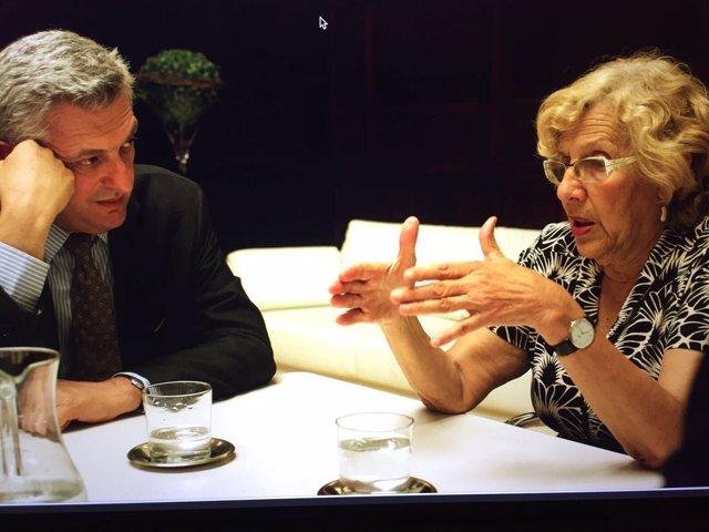 Filippo Grandi con Cramena