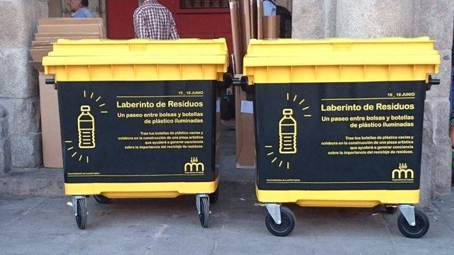 Contenedores 'Laberinto de Residuos'