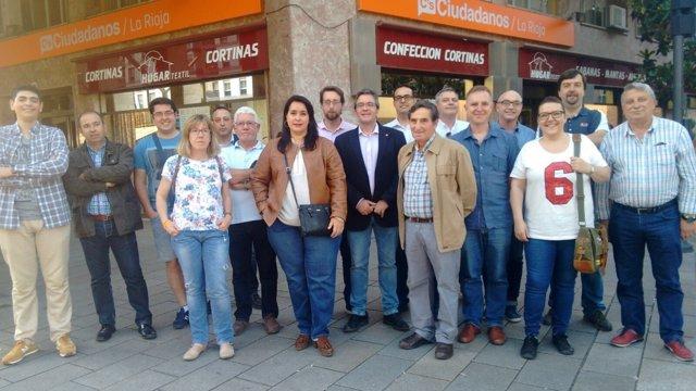 Nuevas Juntas Directivas de Ciudadanos de La Rioja