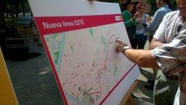 Tussam estrena en septiembre una nueva línea para conectar Sevilla Este y el Prado en 32 minutos