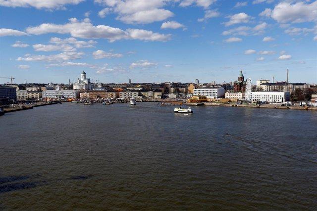 Vista general de Helsinki