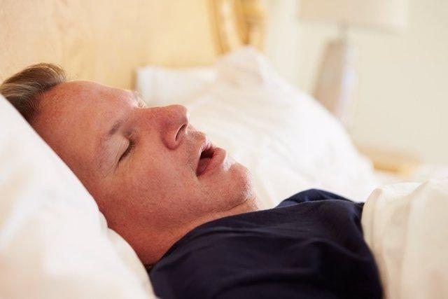 Durmiendo, dormir, roncando, roncar
