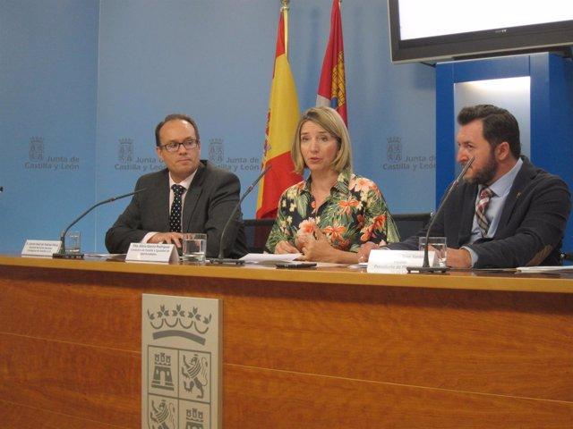 Alicia García y Francisco Sardón (derecha).