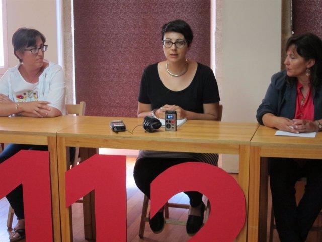 Rueda de prensa del 112 con Ana Miranda (BNG)