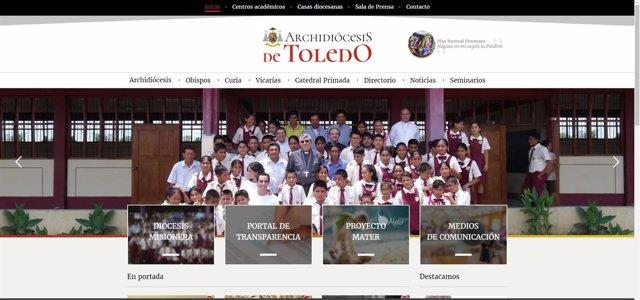Web del arzobispado