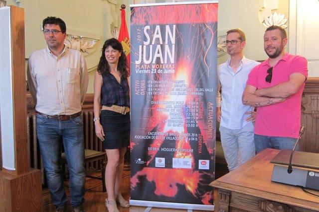 Valladolid. Presentación del programa de la noche de San Juan