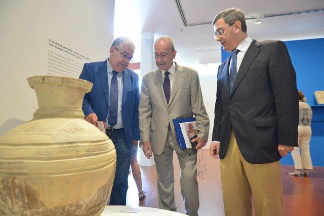 Exposición 'Málaqa, ciudad del saber' en MUPAM