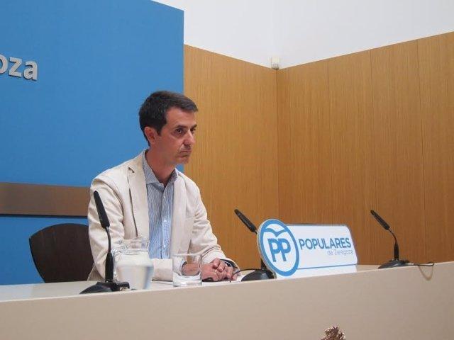 El protavoz adjunto del PP, Pedro Navarro