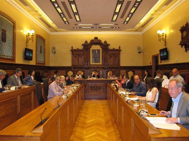 Pleno del Ayuntamiento de Gijón.
