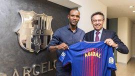 Abidal, embajador del FC Barcelona y miembro de los 'Barça Legends'