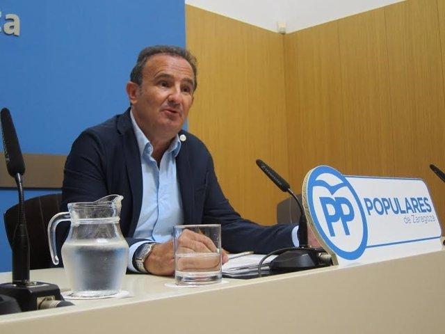 El concejal del PP, Ángel Lorén