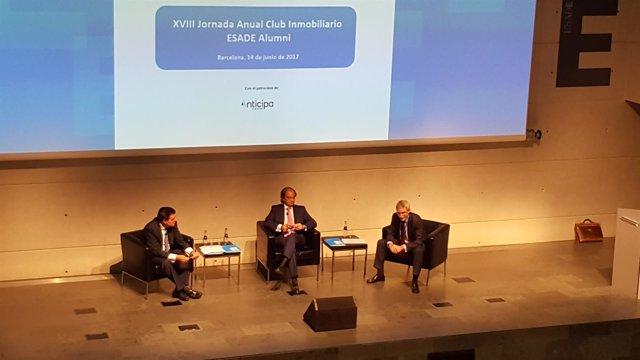 Ismael Clemente, Pere Viñolas y Eduard Mendiluce