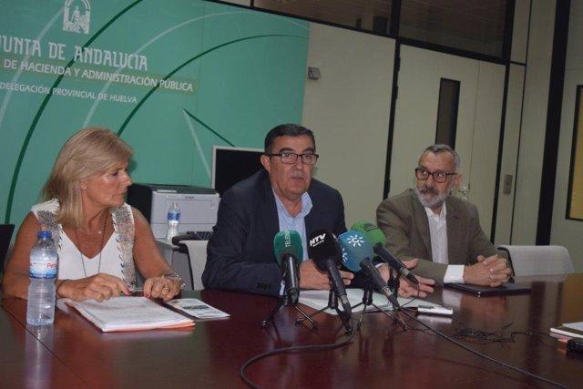 El delegado de Educación, Vicente Zarza.