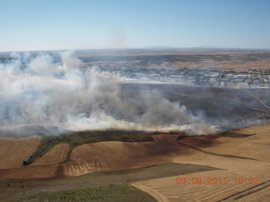 Se amplía el peligro medio de incendios hasta el 30 de junio