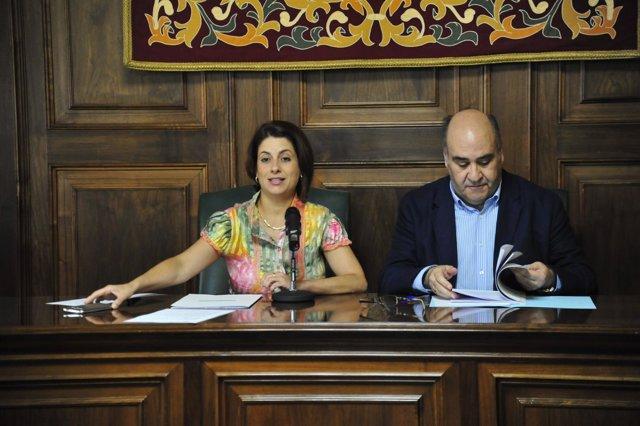 Emma Buj y José María Valero