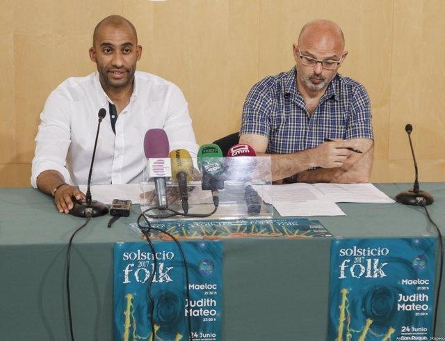 Presentación del Solsticio Folk 2017
