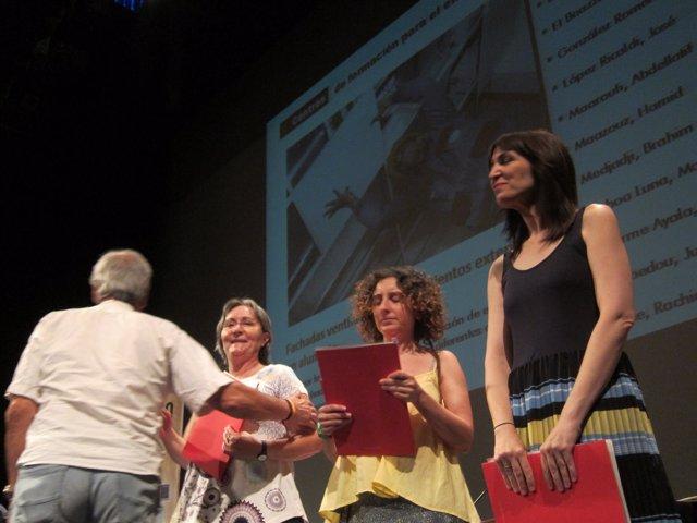 Arantza Gracia asiste a la entrega de diplomas cursos de formación