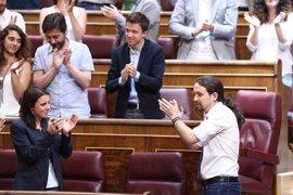 """Pablo Iglesias considera que ahora está """"más cerca"""" de echar al PP antes de Navidad"""