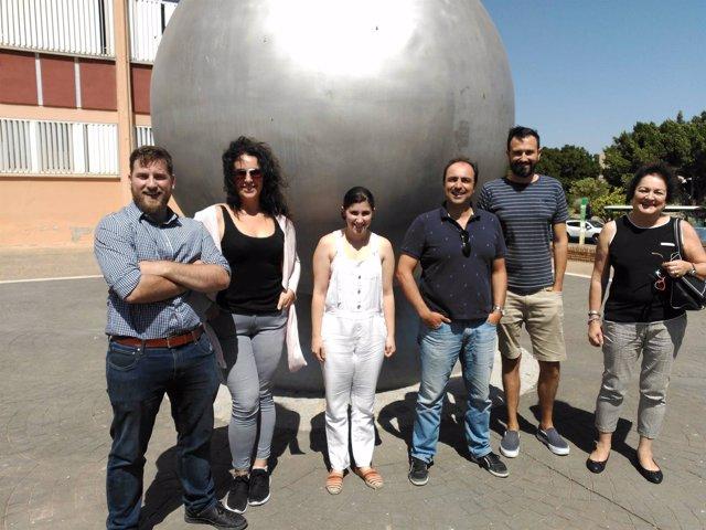 Grupo de científicos de la Universidad de Málaga