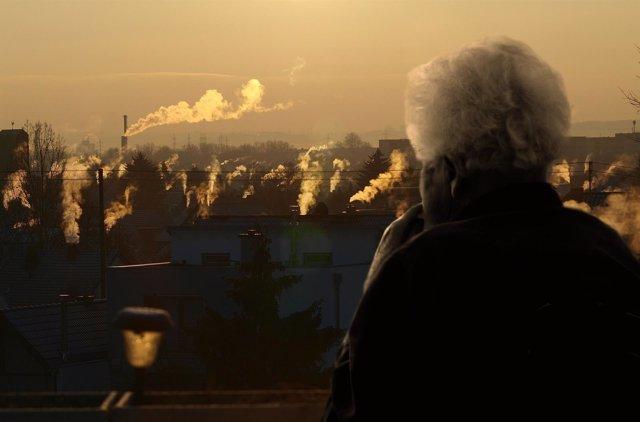 Mayores y contaminación