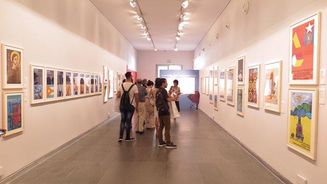 Exposición Sobre El Cartel Cubano En El Muvim