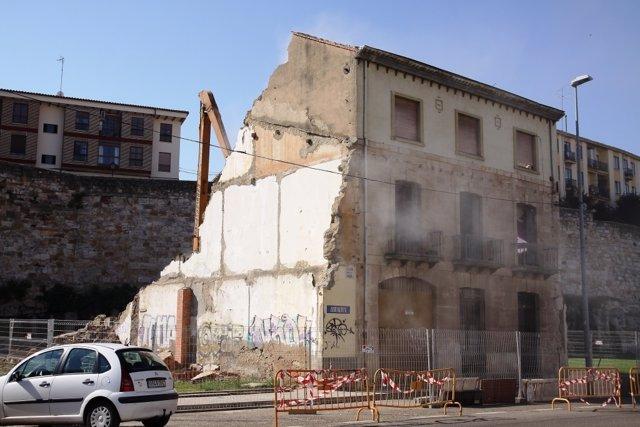 Zamora: derribo del número 31