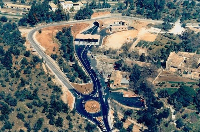 Túnel de Soller, en Mallorca