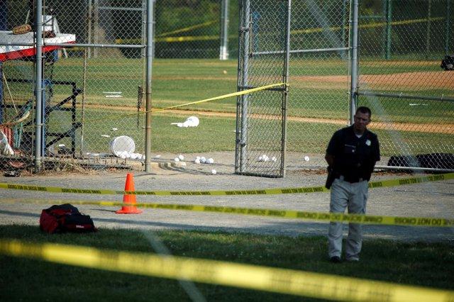 Base de béisbol en la que se ha producido un tiroteo en Virginia, EEUU