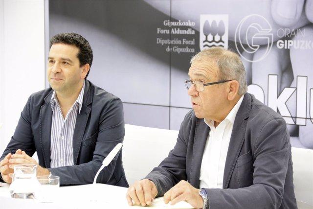 Imanol Lasa e Iñaki Alkorta