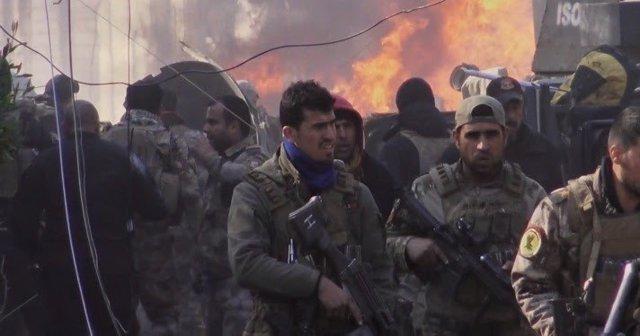 Tres banderas, Mosul