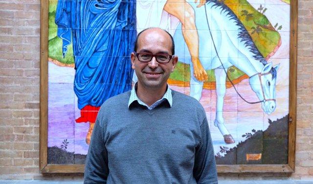 El director de la Fundación Jesús Abandonado, Daniel López