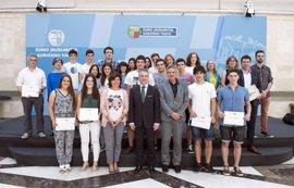 Urkullu destaca el trabajo de los jóvenes en el ámbito del patrimonio cultura en la entrega de premios Kultura Ondarea