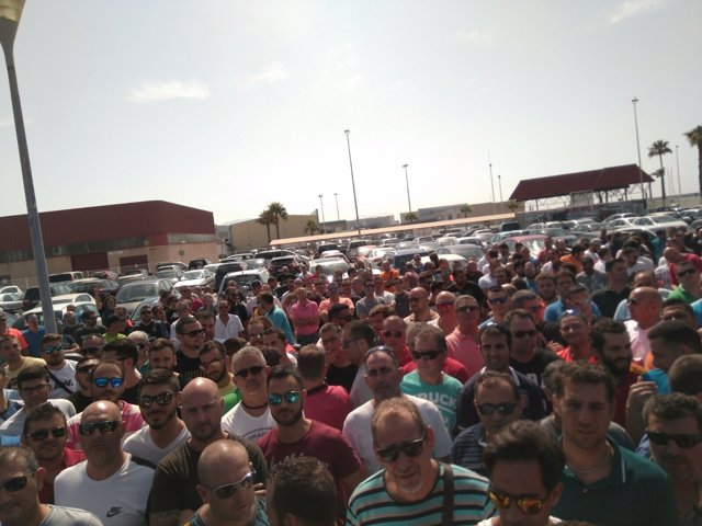 MOvilización por la estiba en Algeciras
