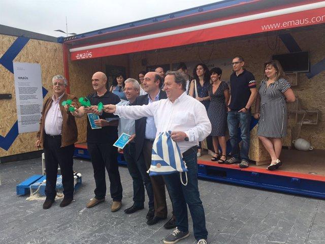 Presentación campaña de sensibilización de playas de Gipuzkoa