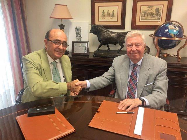 Acuerdo entre DOP Estepa y Fundación Caja Rural del Sur