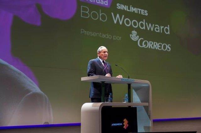 El periodista Bob Woodward