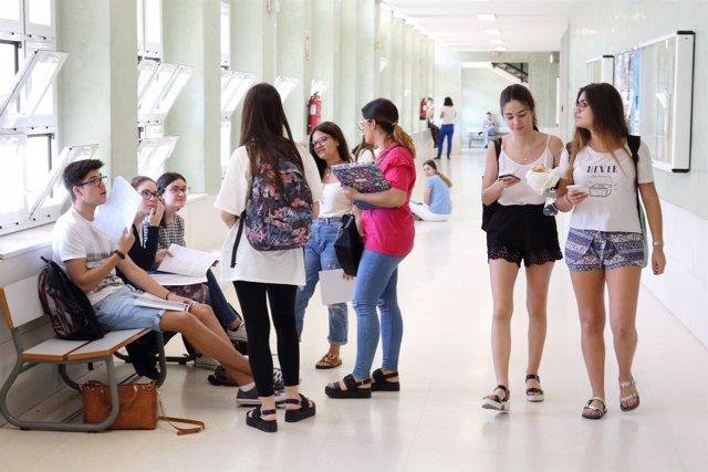 Los estudiantes de Selectividad de la UPO conocerán su nota el 22 de junio