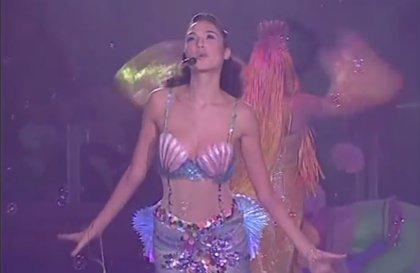 Gal Gadot fue sirena antes que Wonder Woman... y este vídeo es la prueba