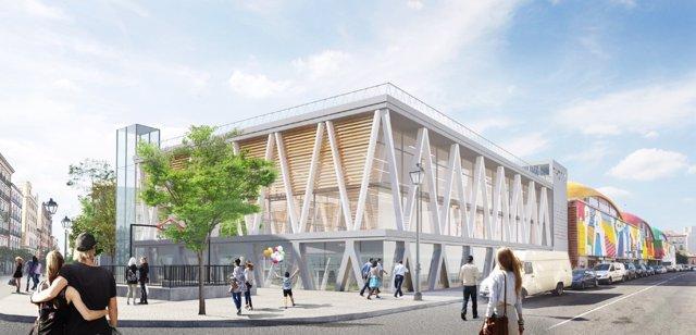 La nueva cebada ampliará la cancha deportiva, mantiene piscina y espacio vecinal