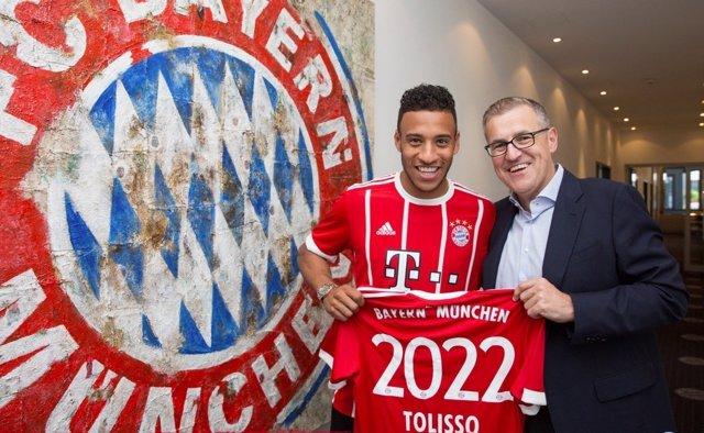 Corentin Tolisso, nuevo jugador del Bayern Múnich