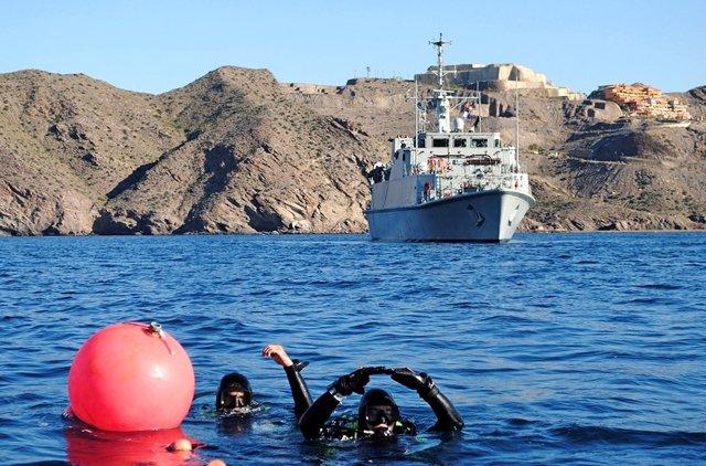 Buques de la Armada Española atracarán en el Puerto de Motril