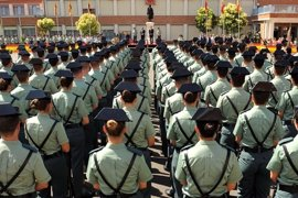 El Director General de la Guardia Civil preside en Valdemoro (Madrid) la entrega de diplomas a los Guardias Jóvenes